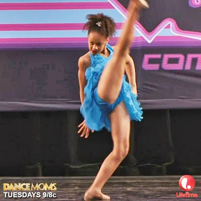 Nia performs a tribute to Abby's poodle Broadway Baby on Dance Moms
