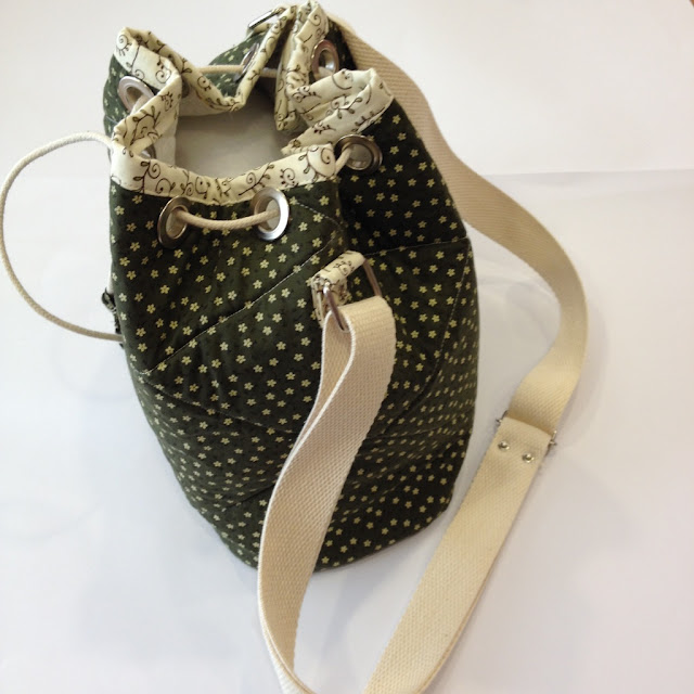 Bolsa saco em tecido | @ateliemadrica
