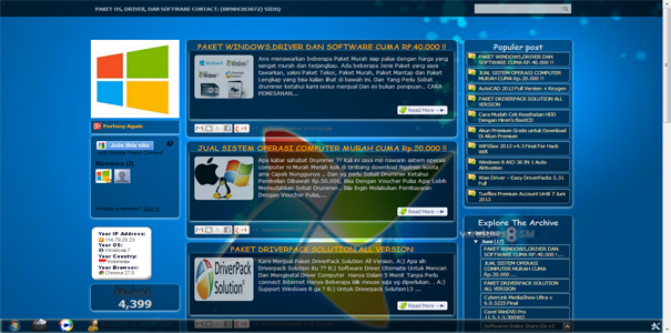 polisi online, software