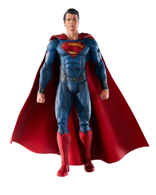 Mattel Man of Steel Movie Masters Superman figure