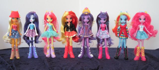My Little Pony: Equestria Girls first release dolls.