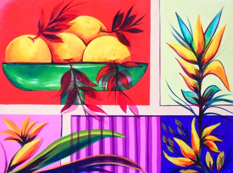 cuadros-sencillos-de-frutas