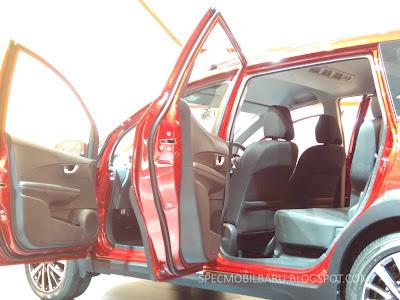 Desain Thin Seat Back di kursi Depan Honda BR-V