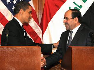 Nuri Al Maliki dan Obama (wikipedia)