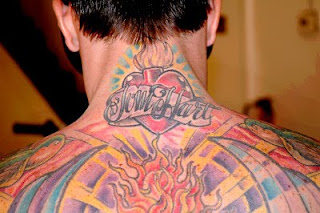 Carey Hart Tattoos - Male Celebrity Tattoo Pictures