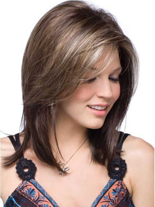 short to mid duration hair styles are the cut of a several of a few ...