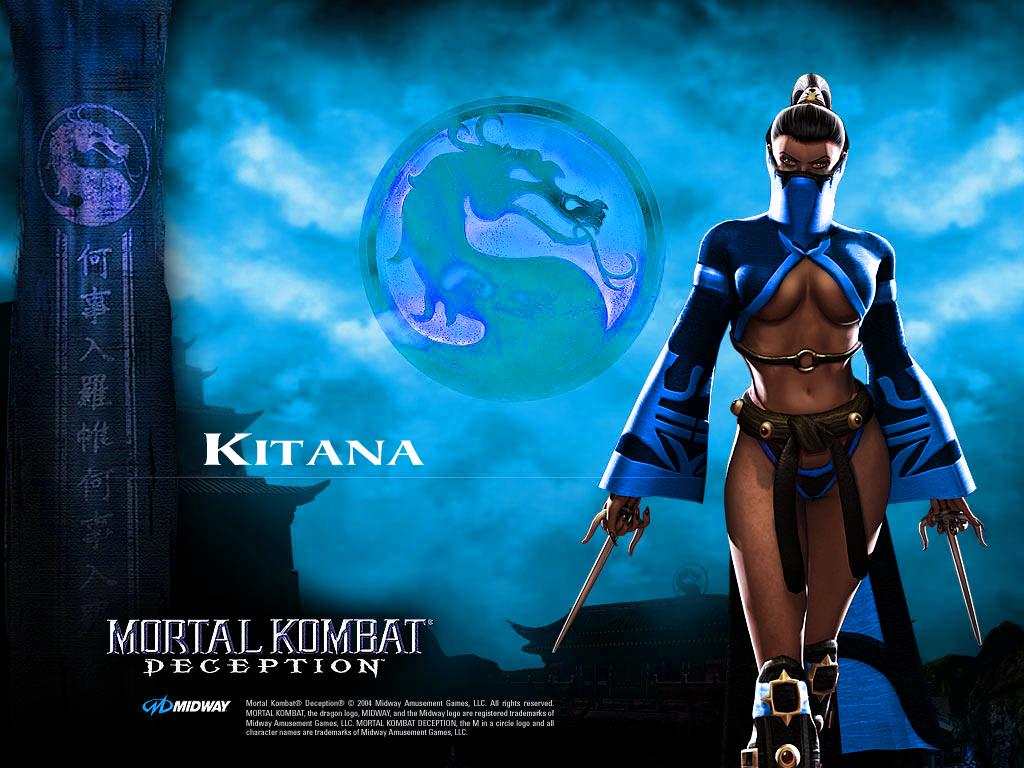 Mortal Kombat 9 Kitana Wallpaper