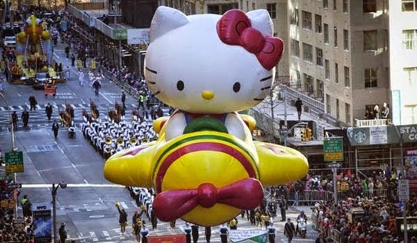 Hello Kitty Ternyata Bukan Seekor Kucing