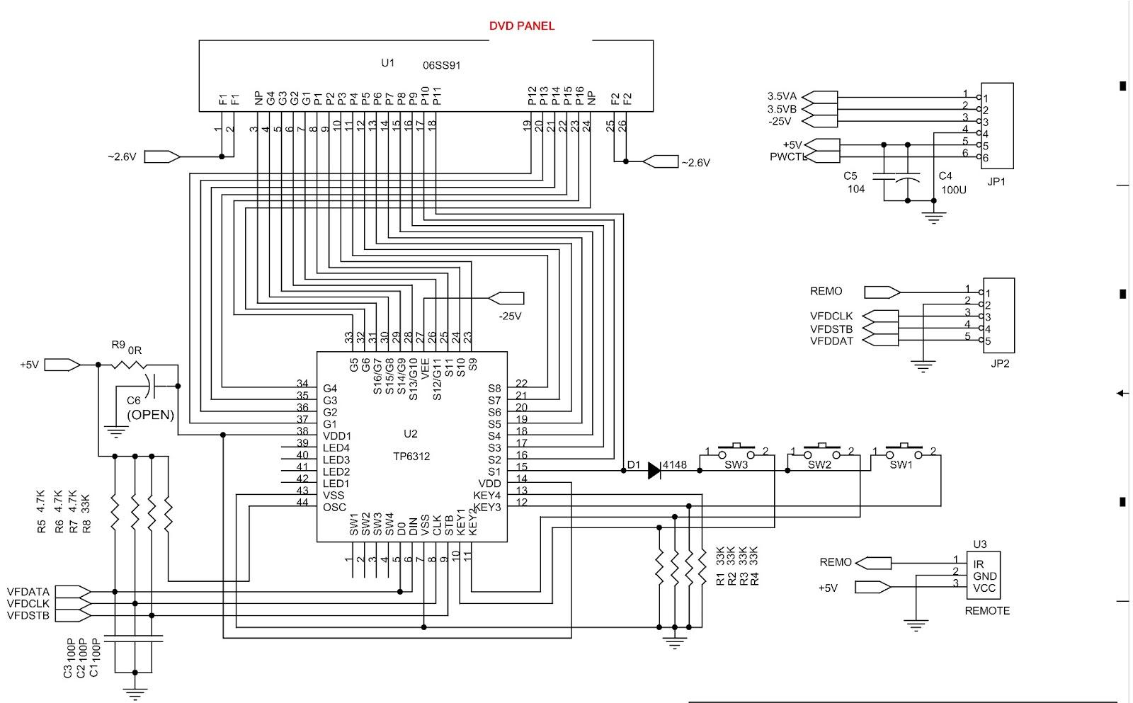 Sven Hd1030 Sanyo Hd60 Servo Dvd Panel Scheatic Diagram S15 Toshiba Inverter Wiring Diagrams