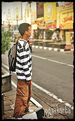 Backpacker in Jogja