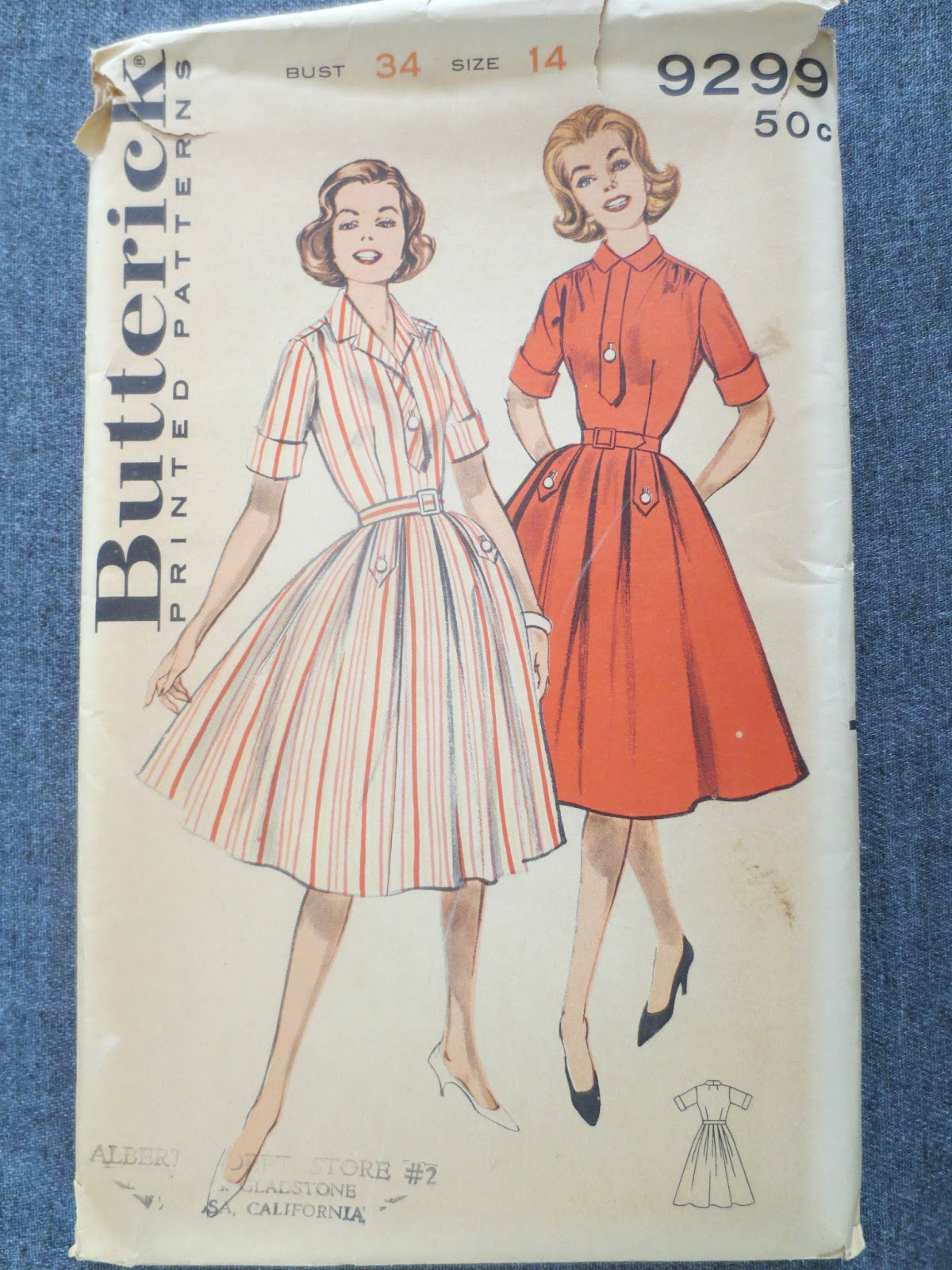 Butterick 9299 via Brentwood Lane