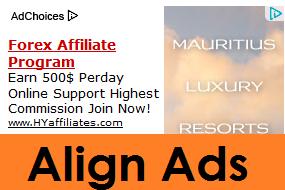 align adsense ads