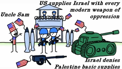 US Supplies Israel with Every Modern Weapon it Needs to Oppress the Arabs