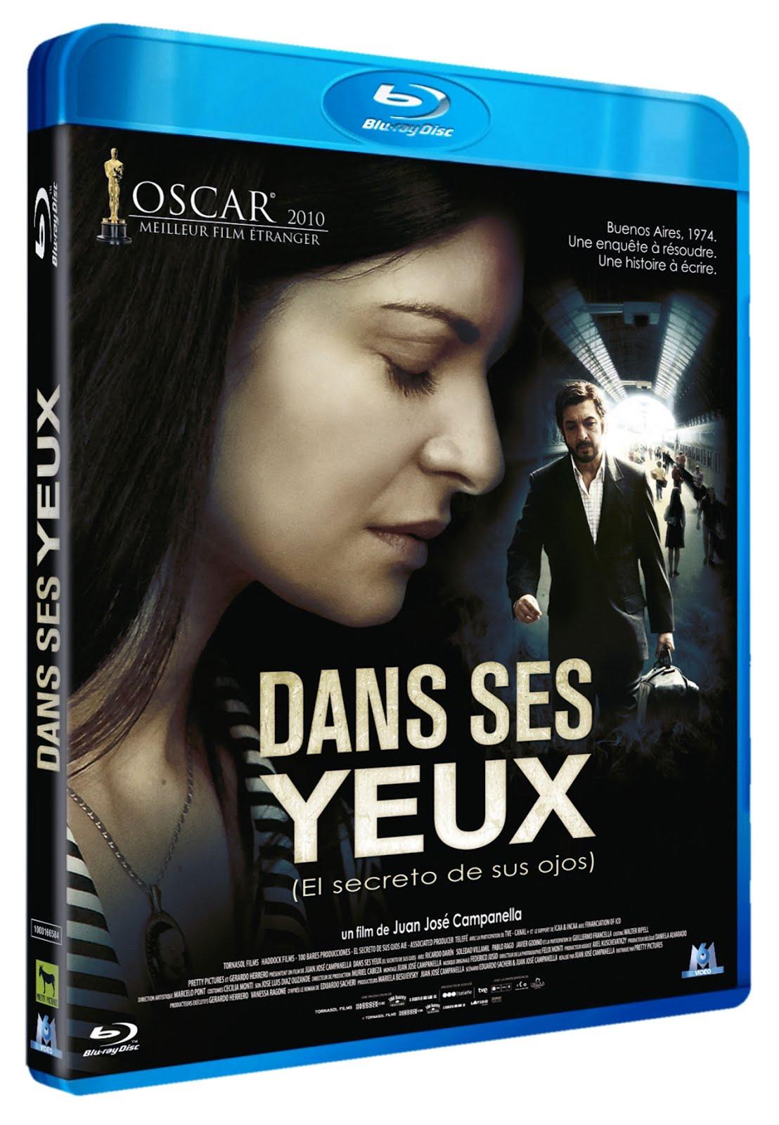 El secreto de sus ojos Blu-ray DVD Case Box