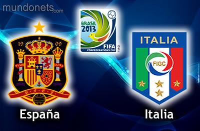 COPA CONFEDERACIONES 2013 ESPAÑA vs ITALIA