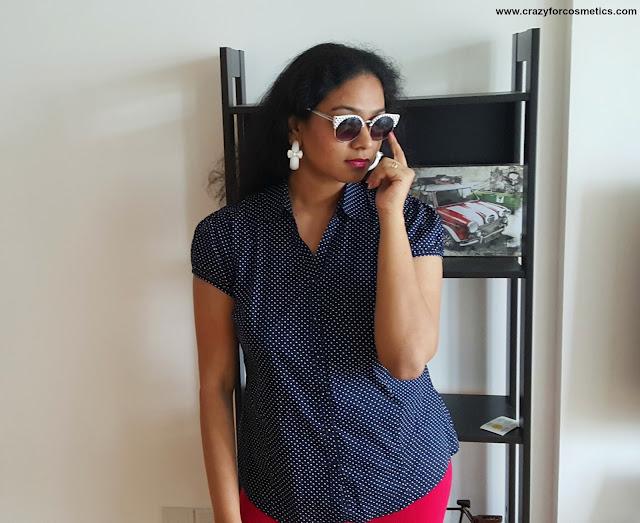 Polka Dot dresses styling