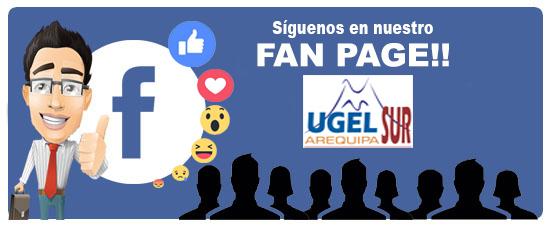 Visita nuestra Página Oficial de Facebook