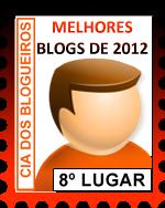 Prêmio: Um dos melhores blogs de 2012