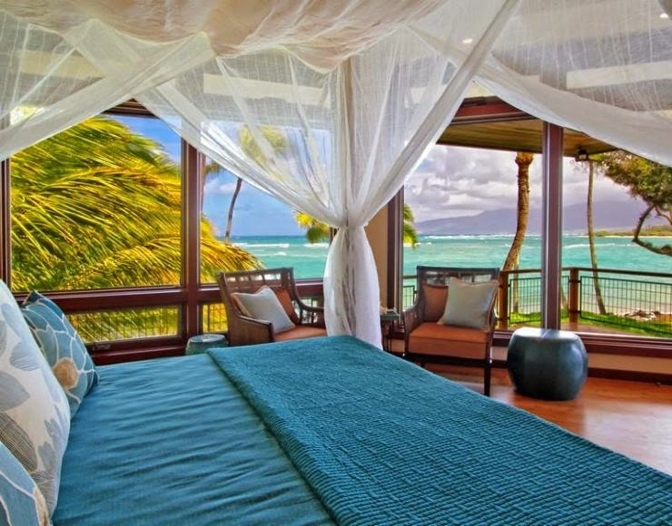 Beach bedroom ideas beach feel at home fun the most for Blue beach bedroom ideas