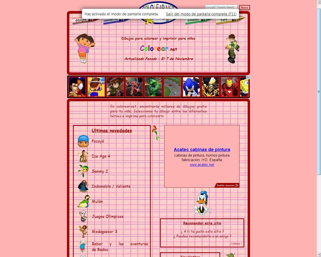 Cosas de padres e hijas: Colorear.net