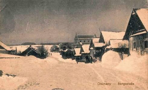 Гольшаны зимой, снимок 1916 г