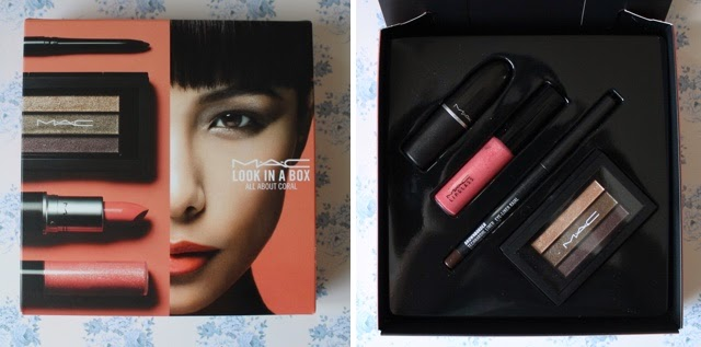 mac coral look in a box