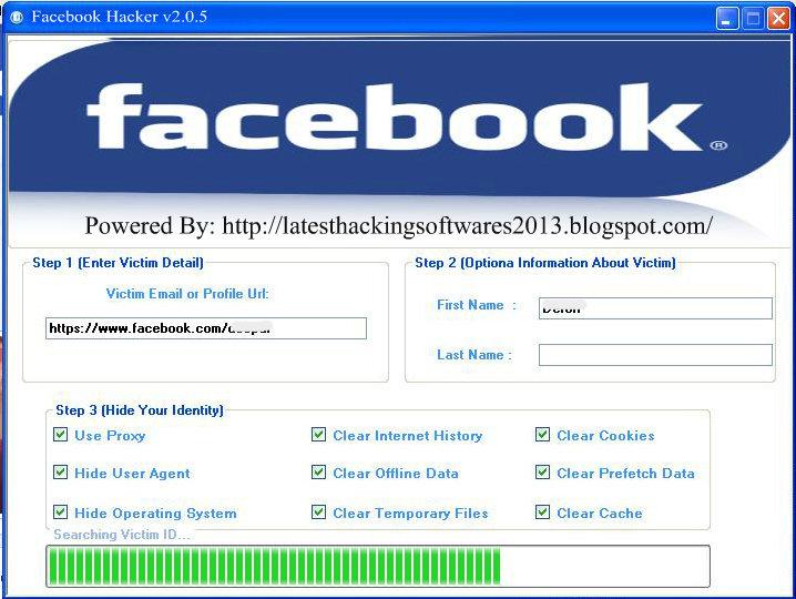 Download Facebook account hack v2 4 rar password files - TraDownload