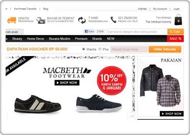 belanja di toko online