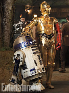 The Force Awakens: R2D2 and C3P0