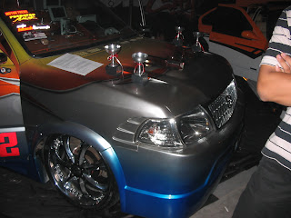 pick up audio system in car contest
