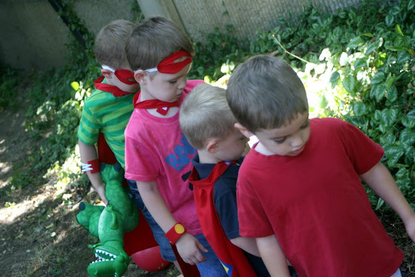 superhero party kids game activity