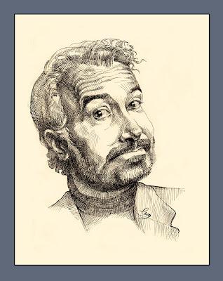 Portrait gratuit (un homme à la barbe)