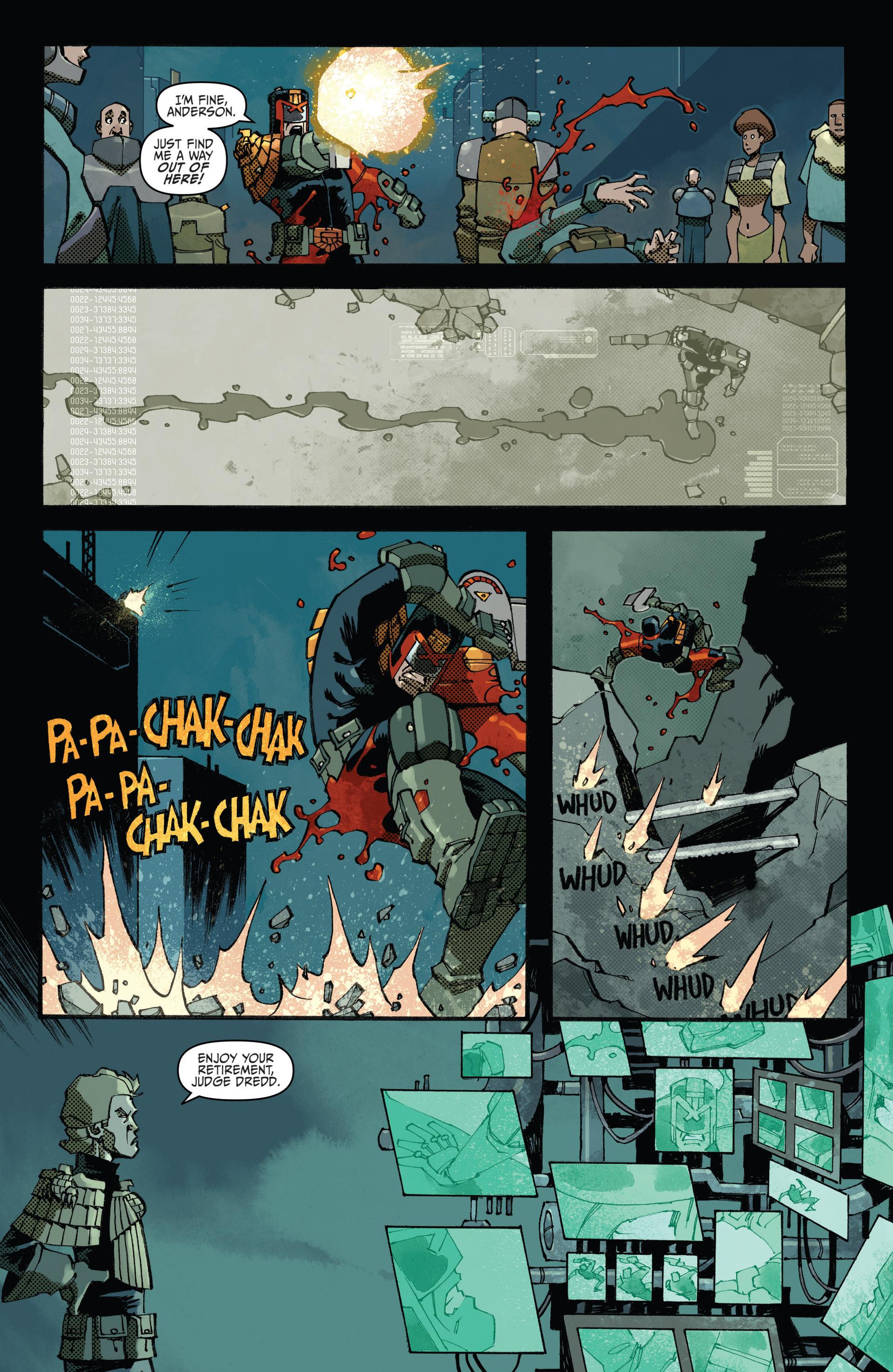 Read online Judge Dredd (2012) comic -  Issue #23 - 18