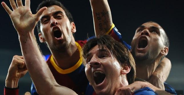 real madrid vs barcelona 1-1 messi goal. Messi master class