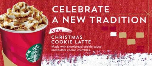 deck the halls as the festive season approaches its time for sharing and nothing beats doing it with starbucks coffee