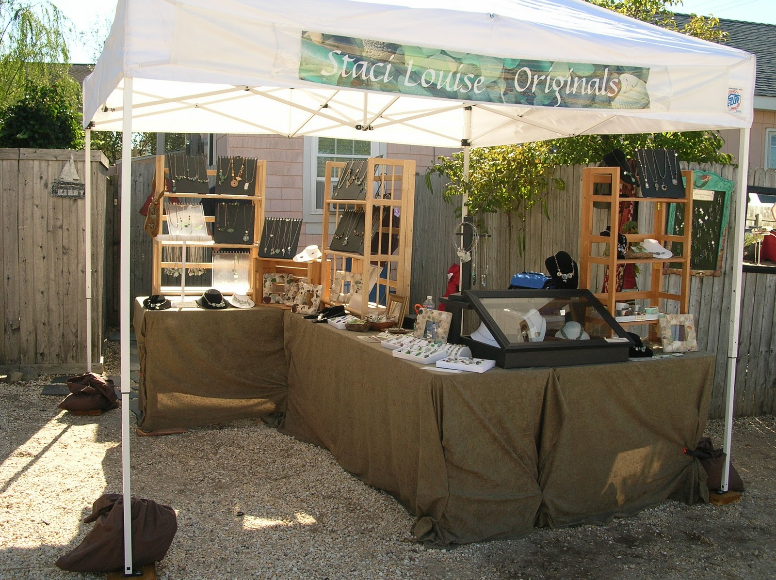 One of a kind jewelry for one of a kind you jewelry shows for Display tents for craft fairs