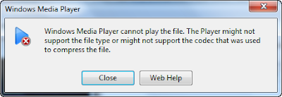 windows media player only supports only limited number of audio and video formats