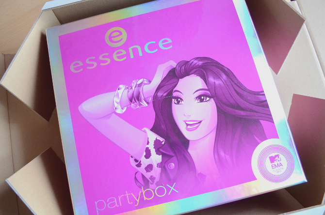essence MTV EMA Partybox