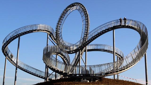 walkable roller coaster in germany damn cool pictures. Black Bedroom Furniture Sets. Home Design Ideas