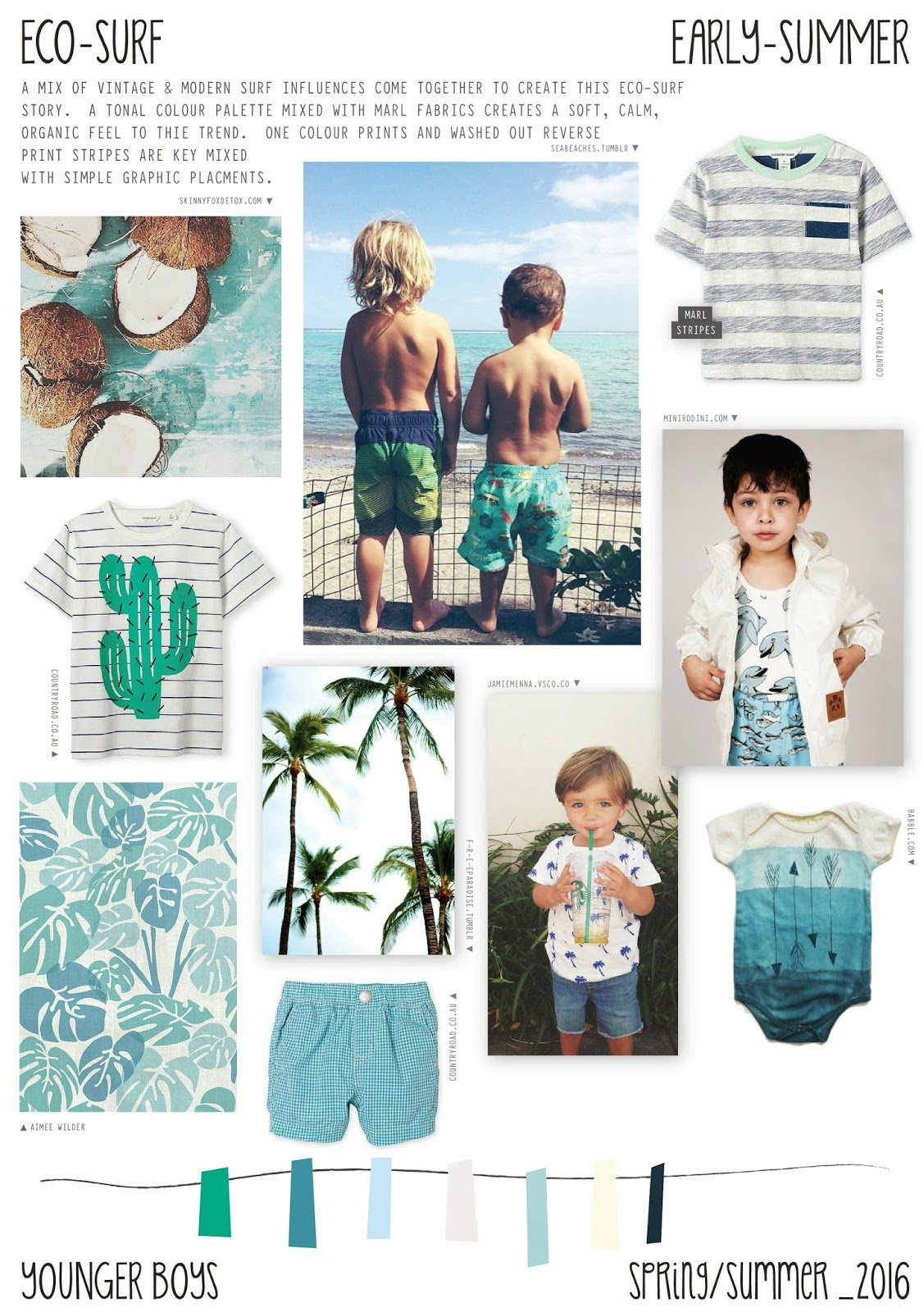 emily kiddy spring summer 2016 younger boys fashion eco surf trend. Black Bedroom Furniture Sets. Home Design Ideas