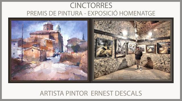 CINCTORRES-PINTURA-MAESTRAZGO-MAESTRAT-EXPOSICIÓ-HOMENATGE-PINTURES-PREMIS-CONCURS-CASTELLÓ-ARTISTA-PINTOR-ERNEST DESCALS