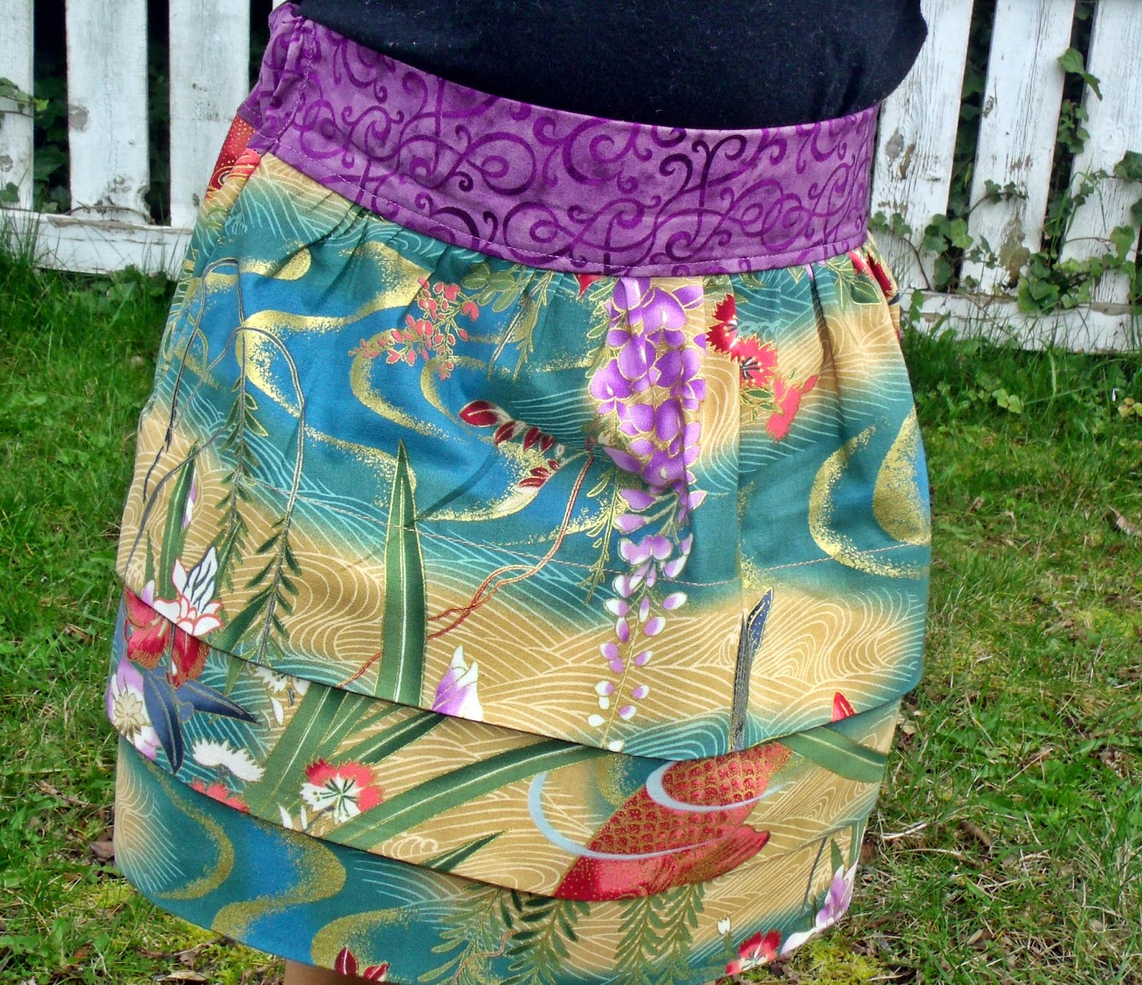 Girl's Skirt No. 5 E+M Patterns made by Keep Calm and Carrion