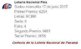 resultados-sorteo-miercoles-17-de-junio-2015-loteria-nacional-de-panama-miercolito