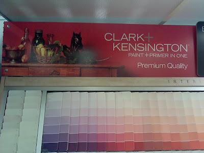 Clark Kensington Paint Color Chart