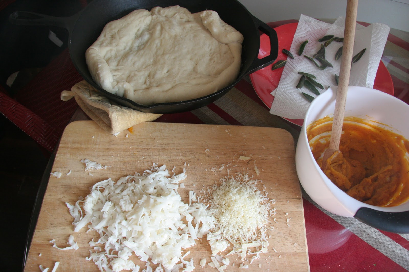 Look Who's Cookin' Now: Pumpkin Pizza with Crispy Sage