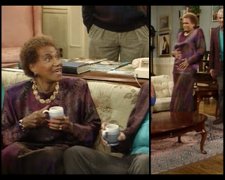 Cosby Show Huxtable fashion blog 80s sitcom Anna Clarice Taylor