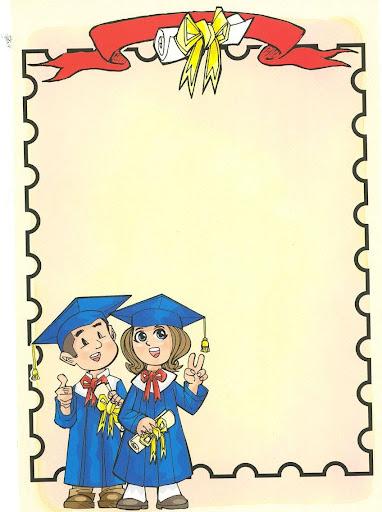 Imagenes Para Colorear De MI Graduacion