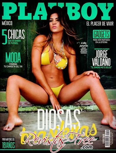 Playboy México - Kelly Amorim - Junho 2014