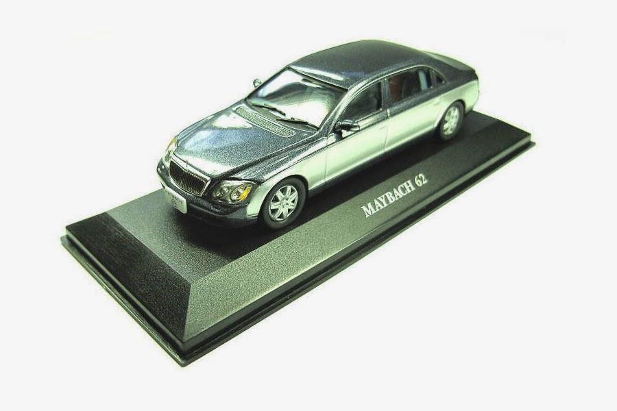 Maybach 62 Limousine 1:43 IXO