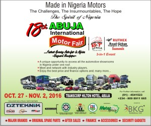 18th ABUJA MOTOR FAIR